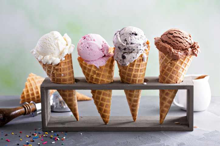NEW Heritage's Ice Cream Flavor in August