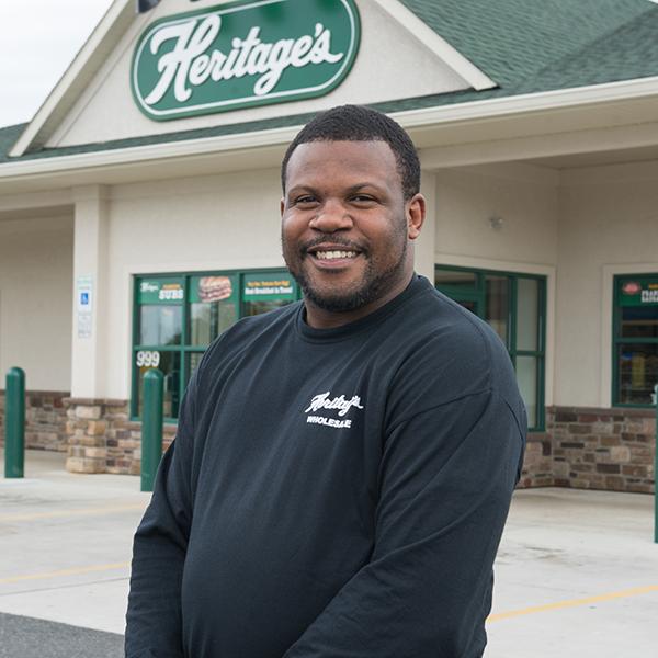 Jamal Jones, Sr. CDL Truck Driver at Heritage's Wholesale