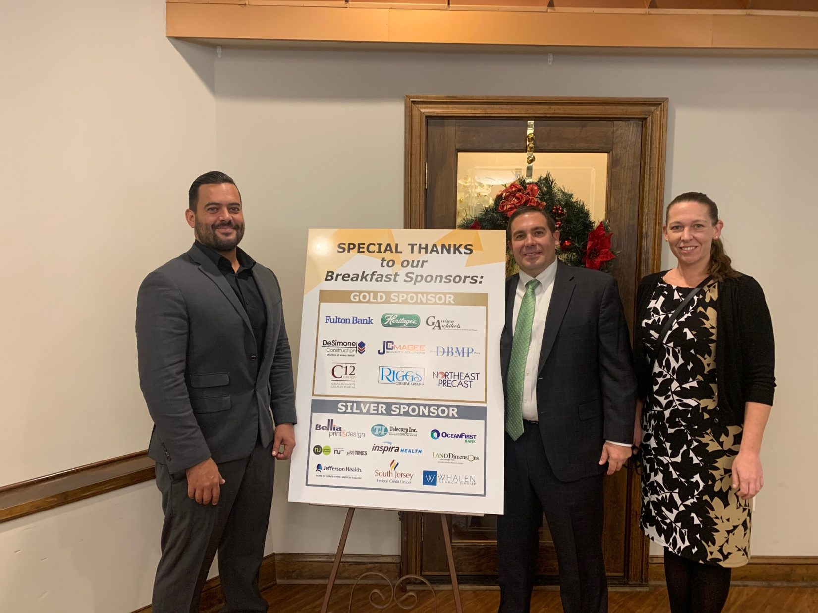 Heritage's Sponsors Annual Gloucester County Mayor's Prayer Breakfast