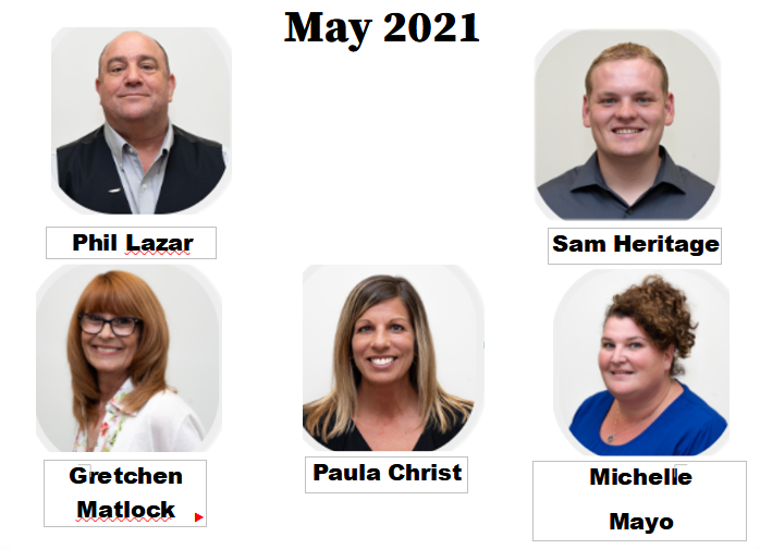 May 2021 Magicians of the Month – Operations Department