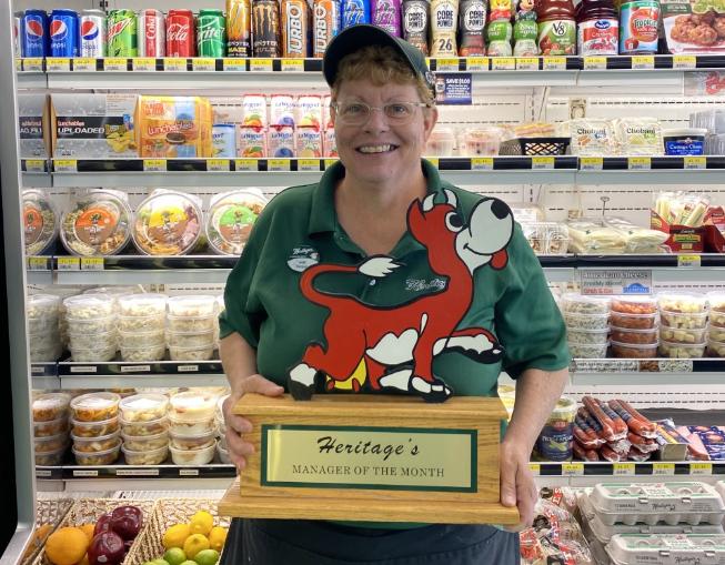 July Manager of the Month – Barbara Tiller