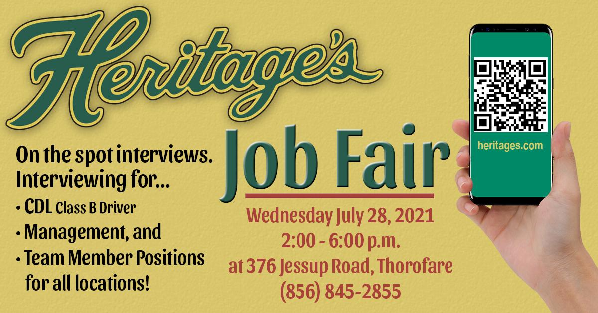 Heritages Job Fair